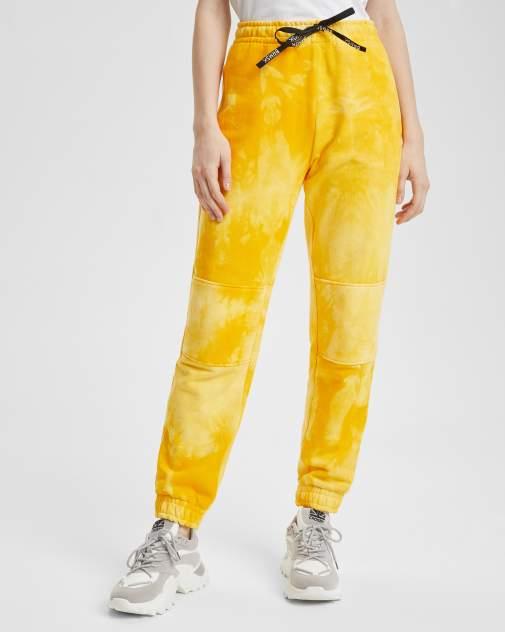 Женские спортивные брюки BARMARISKA БЖ-Б0438, желтый