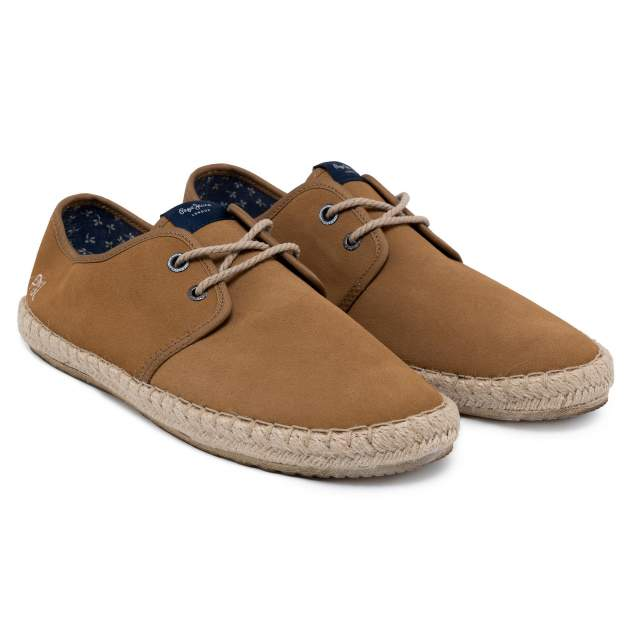 Эспадрильи мужские Pepe Jeans TOURIST BASIC 4.0 PMS10183 коричневые 41 EU