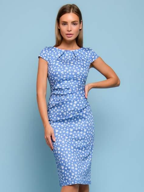 Женское платье 1001dress DM00204BD, голубой