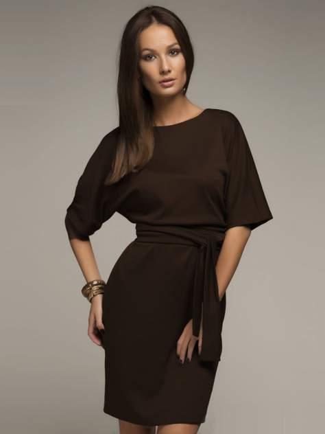 Женское платье 1001dress DM00211BG, коричневый