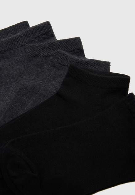 Набор носков мужских Modis M211U002851BCRP21 черных 25-27