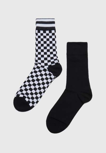 Набор носков мужских Modis M211U00297B001P21 черных 27-29