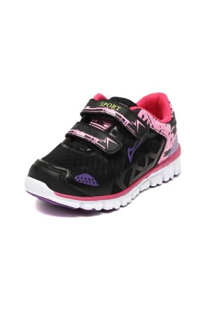 Полуботинки кроссовые TOM.M черный, розовый, белый р.30