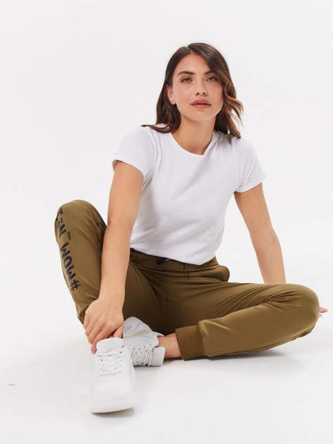 Спортивные брюки женские MOM №1 MOM-0137 хаки M