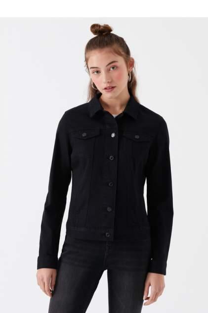 Джинсовая куртка женская Mavi 1113627254 черная XS