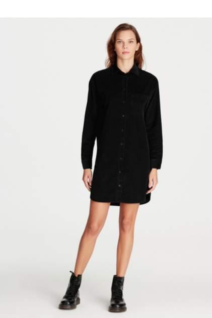 Платье-рубашка женское Mavi 130812-900 черное XS