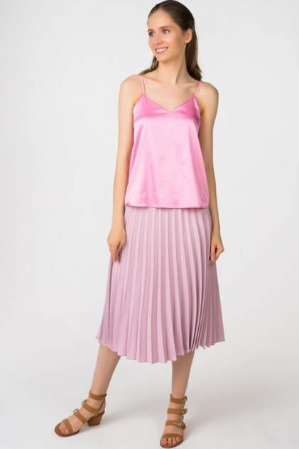 Топ женский T-Skirt 16SS-04-0119-BS розовый 42