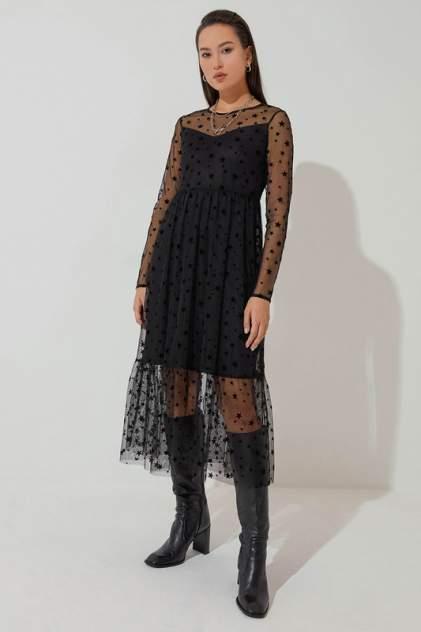 Женское платьеЖенское платье  ZARINAZARINA  04220715710422071571, , черныйчерный