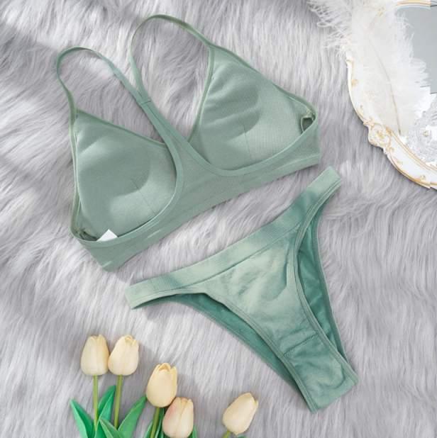Женские комплект белья Propicio Duo 4607186596219, зеленый