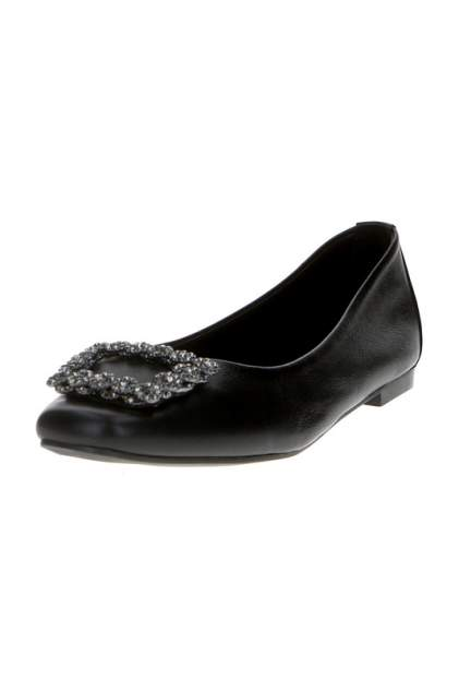 Балетки женские Milana 201184-1-11 черные 40 RU