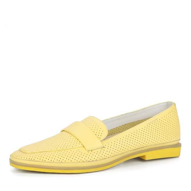 Лоферы женские Respect S20F61-05, желтый