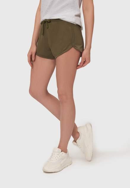 Спортивные шорты женские Modis M211W00874 хаки 46-48 RU