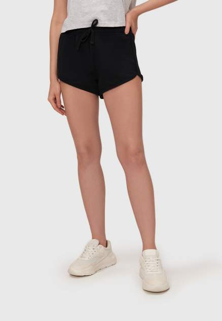 Спортивные шорты женские Modis M211W00874 черные 46-48 RU