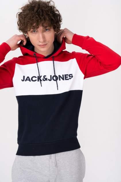 Толстовка мужская Jack & Jones 12172344, красный