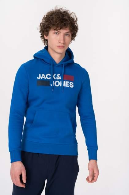 Худи мужское Jack & Jones 12152840 голубое 50