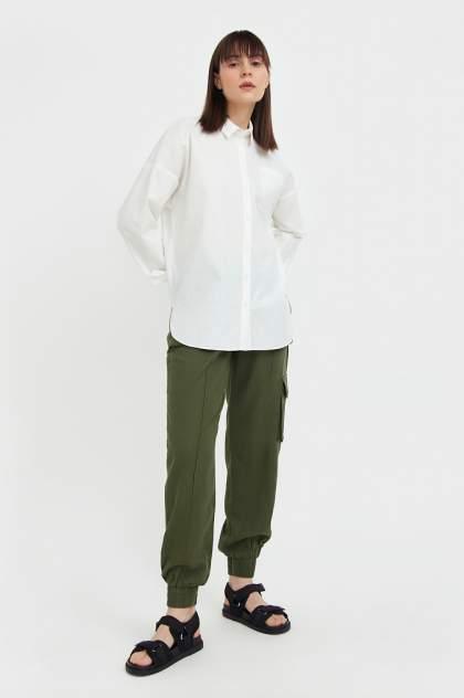 Женские брюки Finn Flare S21-12076, зеленый