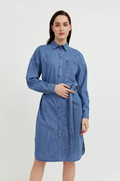 Женское платье Finn Flare S21-15004, синий