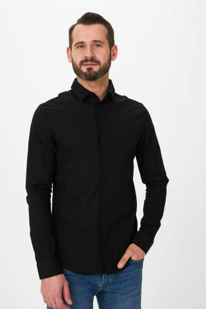 Рубашка мужская Envy Lab R56, черный
