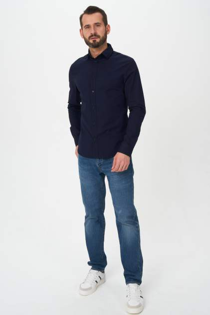 Рубашка мужская Envy Lab R56, синий