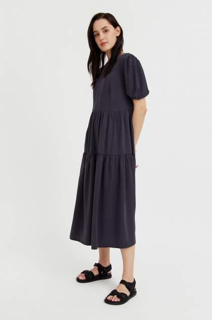 Женское платье Finn Flare S21-15008, серый