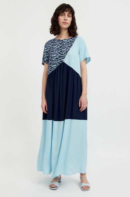 Женское платьеЖенское платье  Finn FlareFinn Flare  S21-14089S21-14089, , синийсиний