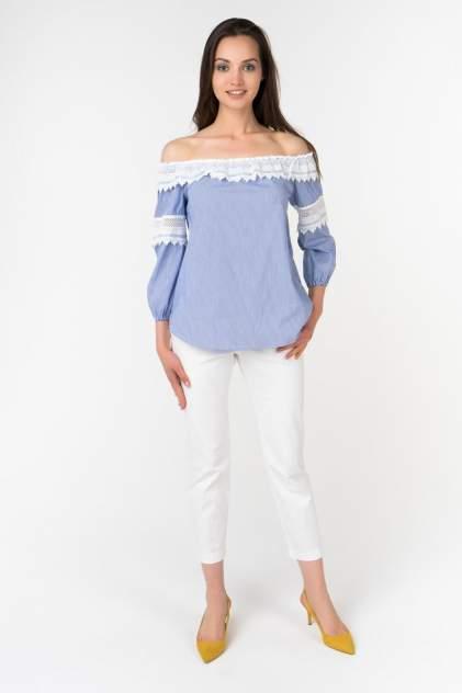Блуза женская АДЛ 11534437000 голубая 42