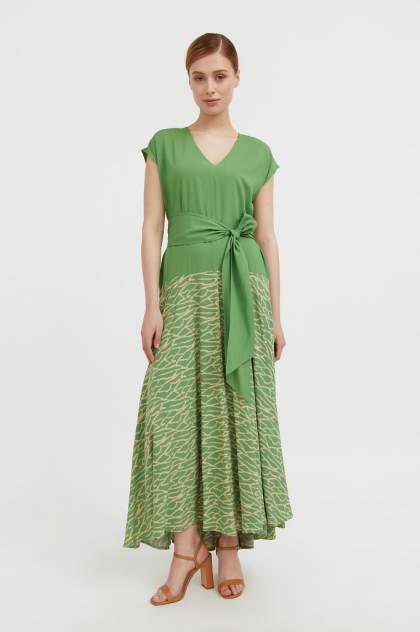 Женское платье Finn Flare S21-14003, зеленый