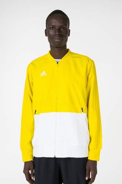 Бомбер мужской Adidas CF4310 желтый 52