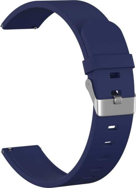 Ремешок унисекс GSMIN Elate 20 силиконовый синий, 42 mm