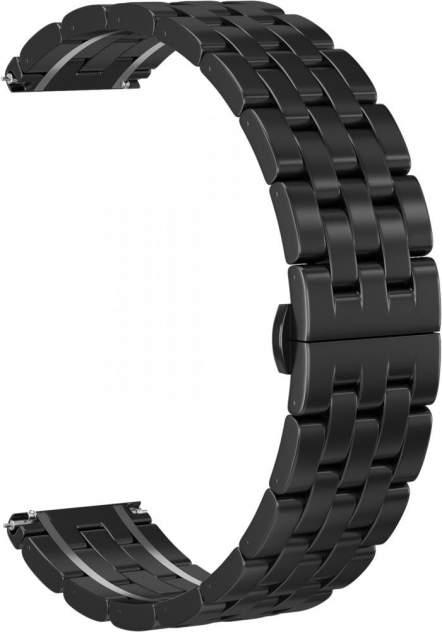 Ремешок унисекс GSMIN Cuff 20 стальной черный, 42 mm