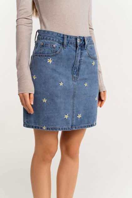 Женская юбка befree 2111253214, голубой