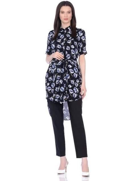 Женская рубашка La Fleuriss F7-7005-138, черный