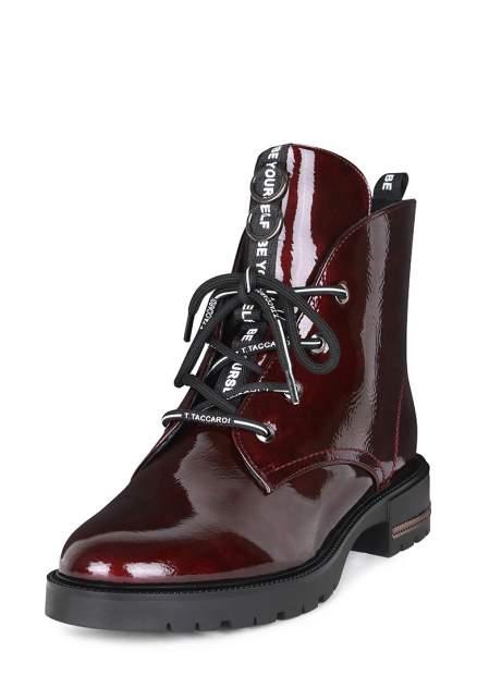 Ботинки женские T.Taccardi JX20W-62, бордовый