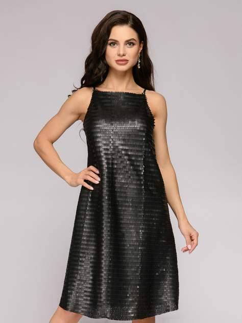 Платье женское 1001dress DM01553BK черное 42