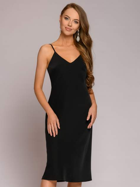 Женское платье 1001dress DM01846BK, черный