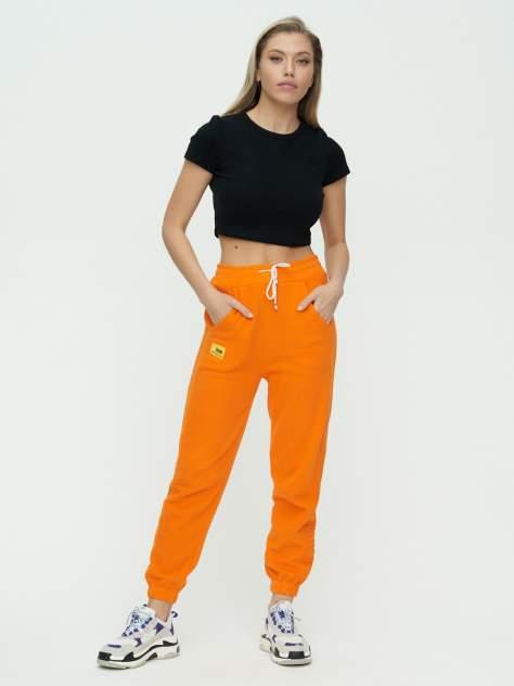 Штаны джоггеры женские 1302O оранжевый 44