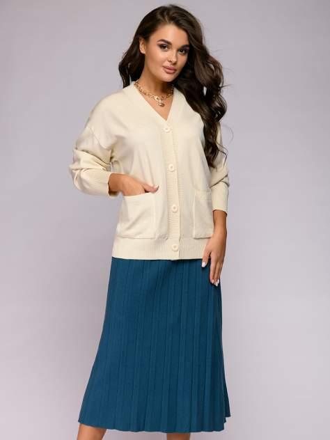 Женская юбка 1001dress 0122010-30082BG, голубой