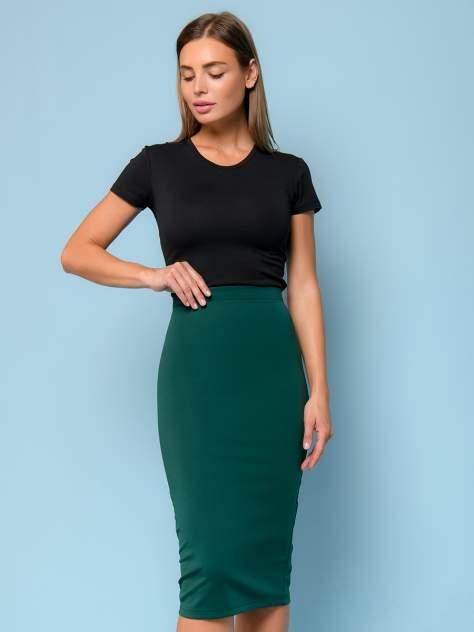 Женская юбка 1001dress 0132110-01596BK, зеленый
