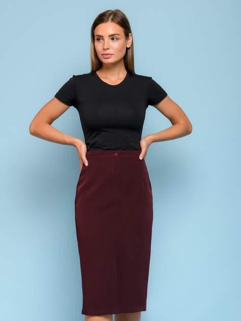Женская юбка 1001dress 0132110-01682BO, бордовый