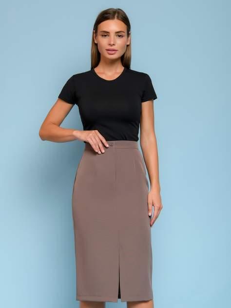 Женская юбка 1001dress 0132110-01682BO, серый