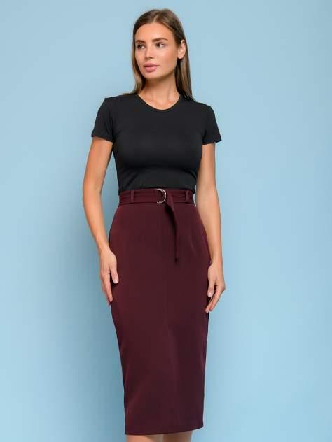 Женская юбка 1001dress 0132110-01768BB, бордовый