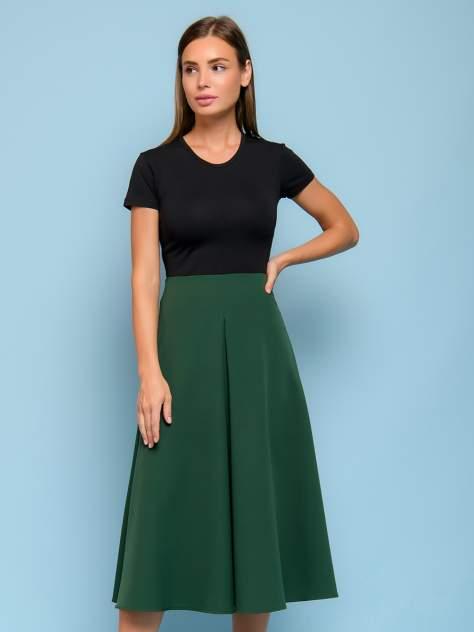 Женская юбка 1001dress 0132110-01830BK, зеленый