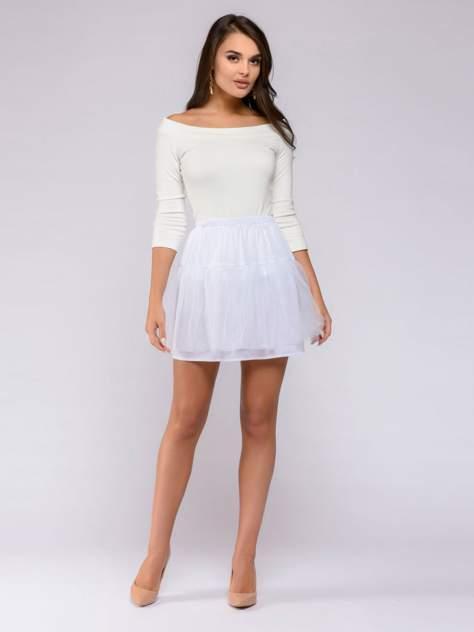 Женская юбка 1001dress DM00091WH, белый