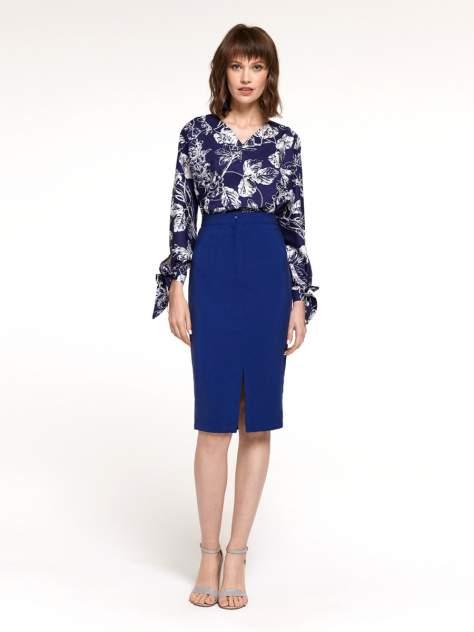 Женская юбка 1001dress DM01682BL, синий