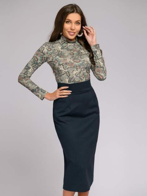Женская юбка 1001dress DM01699DB, синий