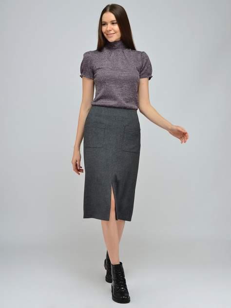 Женская юбка 1001dress VI00125GY, серый