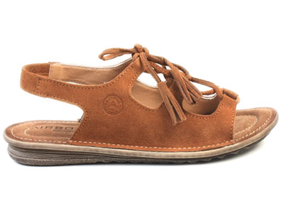Женские босоножки Airbox 136901, коричневый