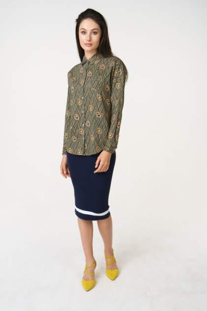 Рубашка женская Scotch & Soda 133.18FWLM.1020146336.19 зеленая 46
