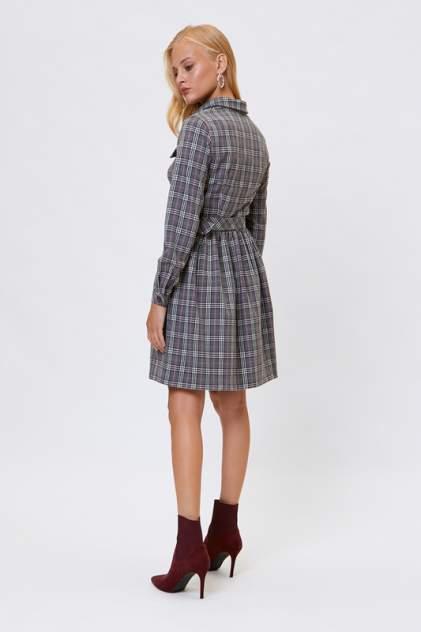 Платье-рубашка женское Vittoria Vicci 1808-51725 серое 42