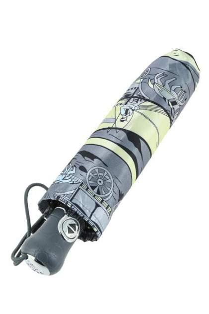 Зонт складной женский автоматический Sponsa 107-6 серый/белый